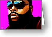 Nicki Minaj Greeting Cards - Rozay Greeting Card by The DigArtisT