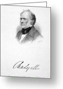 Autograph Greeting Cards - Sir Charles Lyell Greeting Card by Granger