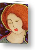 Stillness Greeting Cards - Soul Memory Greeting Card by Gloria Rothrock