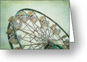 High Wheel Greeting Cards - Summer Fun Greeting Card by Darren Fisher
