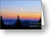 Solstice Greeting Cards - Summer Solstice Sunrise Greeting Card by Thomas R Fletcher