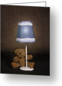 Black Fur Greeting Cards - Teddy Bear Greeting Card by Joana Kruse