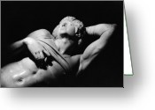 Julius Greeting Cards - The Dying Slave Greeting Card by Michelangelo Buonarroti
