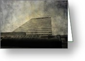 Elevators Greeting Cards - The Stairs Greeting Card by Jerry Cordeiro