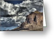 The Supes Greeting Cards - The Superstitions  Greeting Card by Saija  Lehtonen