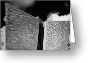 Signature Photo Greeting Cards - Titanic Signature Building Museum Titanic Quarter Belfast Northern Ireland Greeting Card by Joe Fox