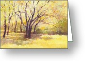 J Reifsnyder Greeting Cards - Trees2 Greeting Card by J Reifsnyder