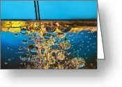 Perfection Greeting Cards - Water And Oil Greeting Card by Setsiri Silapasuwanchai