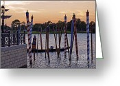 Showcase Greeting Cards - World Showcase - Italy Pavillion Greeting Card by AK Photography