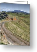 Rural Scenes Greeting Cards - Landscape Greeting Card by Les Cunliffe