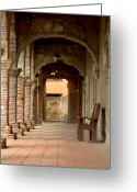 Old San Juan Greeting Cards - Mission San Juan Capistrano Greeting Card by Brad Scott