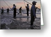 Fishermen Greeting Cards - Untitled Greeting Card by National Geographic