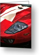 Ford Engine Greeting Cards - 2004 Ford GT Greeting Card by Gordon Dean II