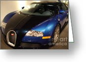 Imports Greeting Cards - 2006 Bugatti Veyron - 7D17279 Greeting Card by Wingsdomain Art and Photography