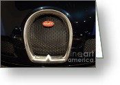 Imports Greeting Cards - 2006 Bugatti Veyron - 7D17280 Greeting Card by Wingsdomain Art and Photography