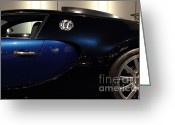 Sportscars Greeting Cards - 2006 Bugatti Veyron - 7D17281 Greeting Card by Wingsdomain Art and Photography