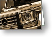 Buttermilk Greeting Cards - 2012 Mercedes Benz G-Class Greeting Card by Gordon Dean II