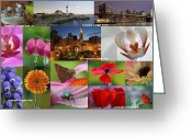 Landscapes Greeting Cards - 2012 Photography Artwork Highlights Greeting Card by Juergen Roth