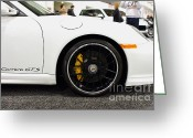 Porsche 911 Greeting Cards - 2012 Porsche 911 Carrera GT . 7D9630 Greeting Card by Wingsdomain Art and Photography