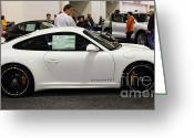 Porsche 911 Greeting Cards - 2012 Porsche 911 Carrera GTS . 7D9629 Greeting Card by Wingsdomain Art and Photography