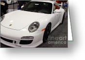 Porsche 911 Greeting Cards - 2012 Porsche 911 Carrera GTS . 7D9635 Greeting Card by Wingsdomain Art and Photography