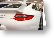 Porsche 911 Greeting Cards - 2012 Porsche 911 Carrera GTS . 7D9639 Greeting Card by Wingsdomain Art and Photography