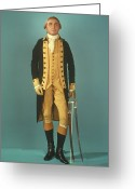 Resignation Greeting Cards - George Washington Greeting Card by Granger