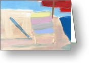 Surf Art Greeting Cards - RCNpaintings.com Greeting Card by Chris N Rohrbach