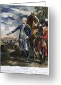 Rebellion Greeting Cards - Marquis De Lafayette Greeting Card by Granger