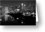 Pennsylvania  Greeting Cards - 23 th Street Bridge Philadelphia Greeting Card by Louis Dallara