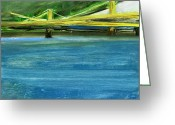 Featured Landscape Art Greeting Cards - RCNpaintings.com Greeting Card by Chris N Rohrbach
