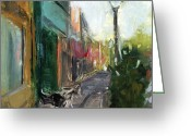 Lebo Greeting Cards - RCNpaintings.com Greeting Card by Chris N Rohrbach