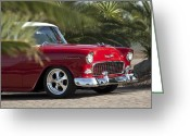 Professional Greeting Cards - 1955 Chevrolet 210 Greeting Card by Jill Reger