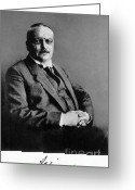 Personality Greeting Cards - Alois Alzheimer, German Neuropathologist Greeting Card by Science Source