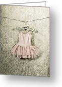 Baroque Greeting Cards - Ballet Dress Greeting Card by Joana Kruse