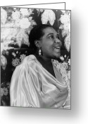 Singer Songwriter Greeting Cards - Bessie Smith (1894-1937) Greeting Card by Granger
