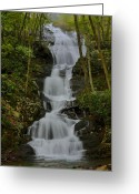 Buttermilk Greeting Cards - Buttermilk Falls Greeting Card by Stephen  Vecchiotti