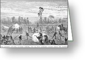 General Jackson Greeting Cards - Chancellorsville, 1863 Greeting Card by Granger