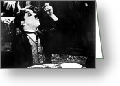 Gold Rush Greeting Cards - Chaplin: Gold Rush. 1925 Greeting Card by Granger