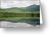 Peak One Greeting Cards - Chocorua Lake - Tamworth New Hampshire Greeting Card by Erin Paul Donovan