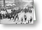Mathew Greeting Cards - Civil War: Union Army Greeting Card by Granger