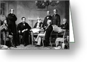 Emancipation Greeting Cards - Emancipation Proclamation Greeting Card by Photo Researchers