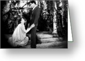 Movie Star Greeting Cards - Flesh And The Devil, 1927 Greeting Card by Granger