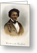 Signature Greeting Cards - Frederick Douglass Greeting Card by Granger
