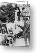 Hall Of Fame Photo Greeting Cards - George W. Carver, African-american Greeting Card by Science Source