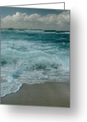 ; Maui Greeting Cards - Hookipa Greeting Card by Sharon Mau