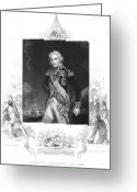 Amputee Greeting Cards - Horatio Nelson (1758-1805) Greeting Card by Granger
