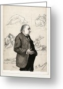 Freud Greeting Cards - Jean-martin Charcot, French Neurologist Greeting Card by Humanities & Social Sciences Librarynew York Public Library