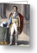 Peninsular Greeting Cards - Joseph Bonaparte (1768-1844) Greeting Card by Granger