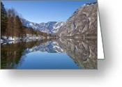 Lake Bohinj Greeting Cards - Lake Bohinj Greeting Card by Andre Goncalves